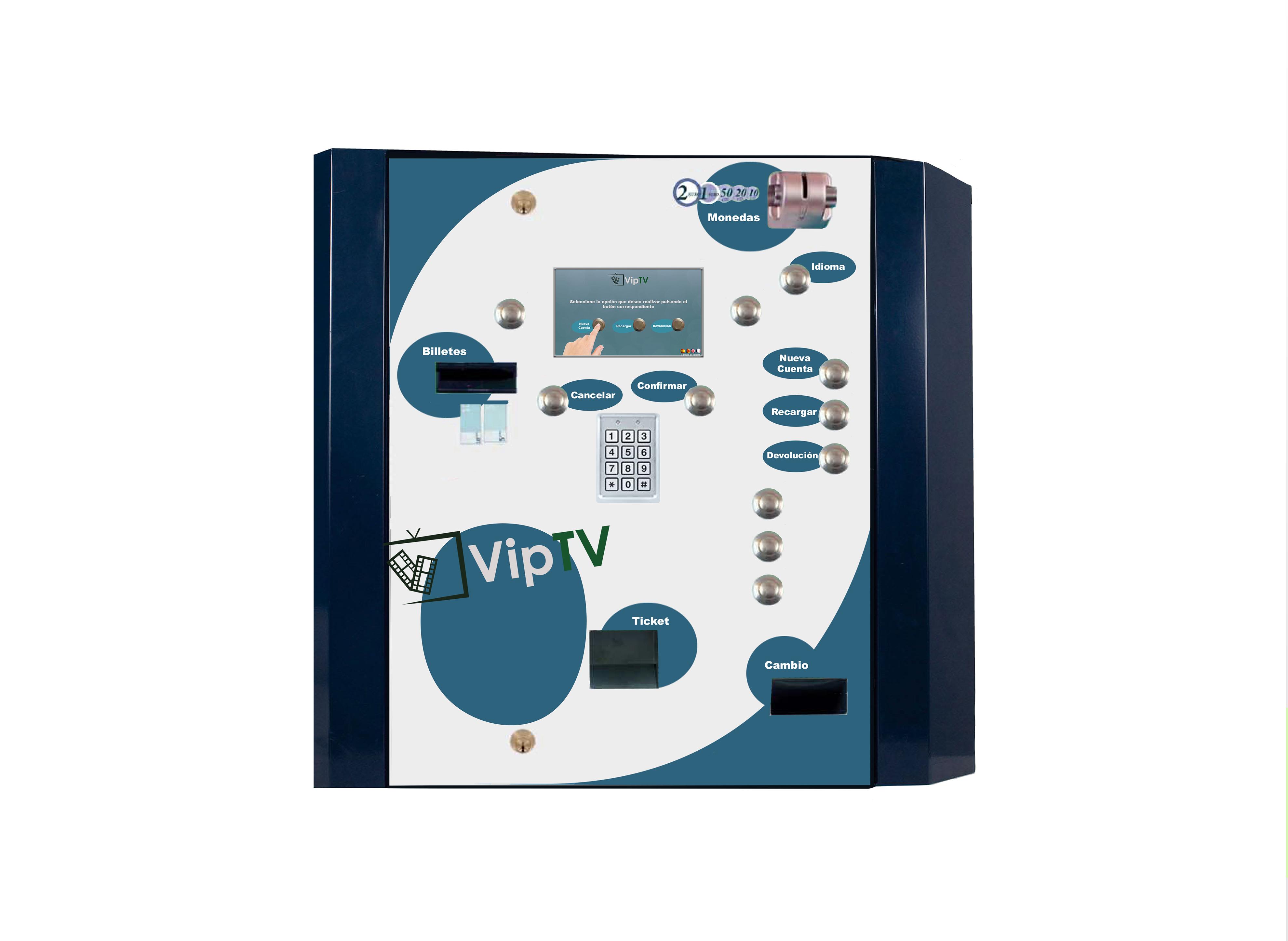 expendedora VipTV